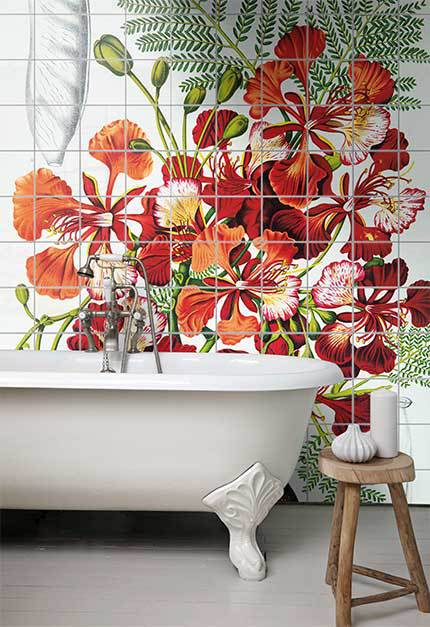 Style Your Bathroom With Wall Art Blog Surface View