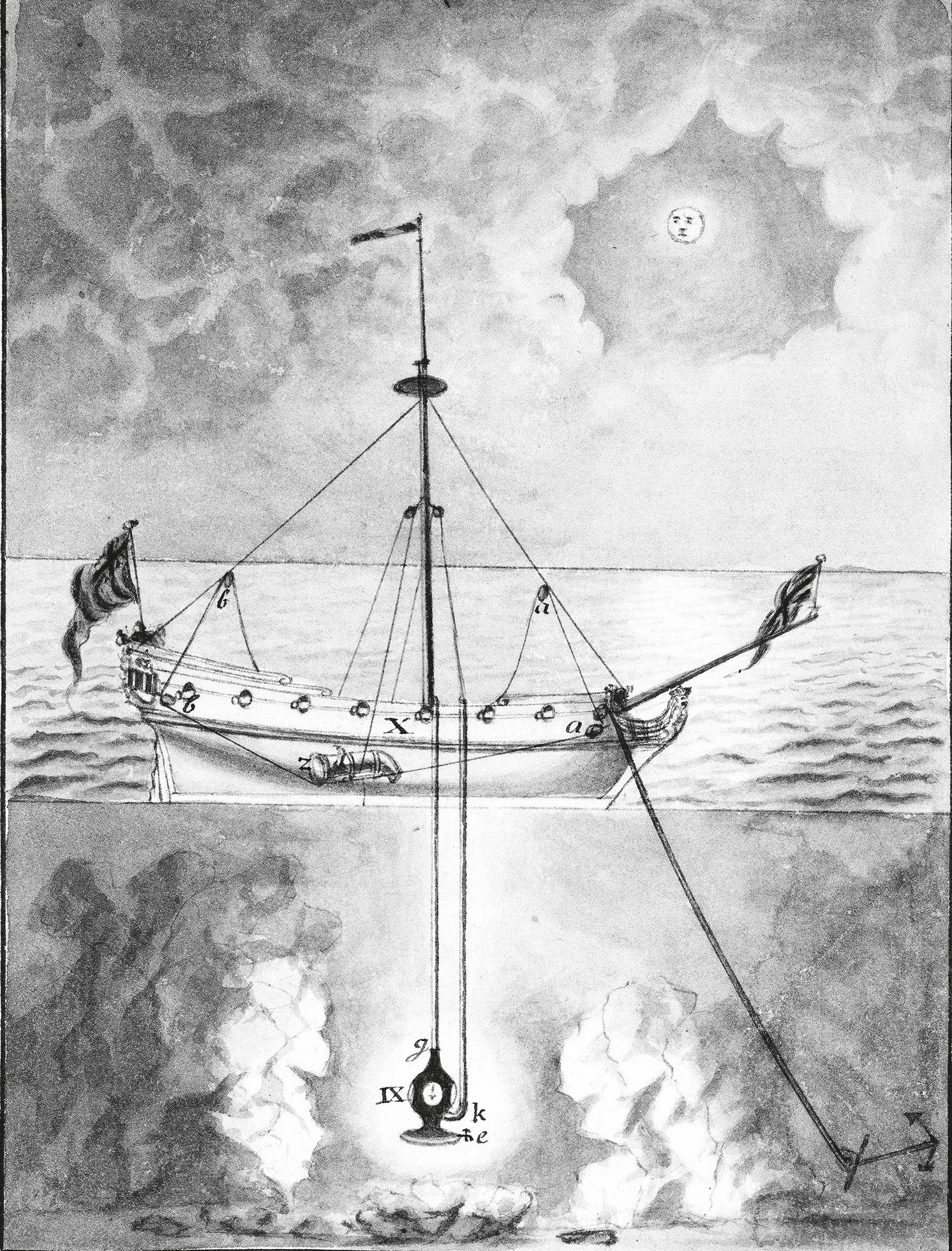 18th century diving apparatus, II