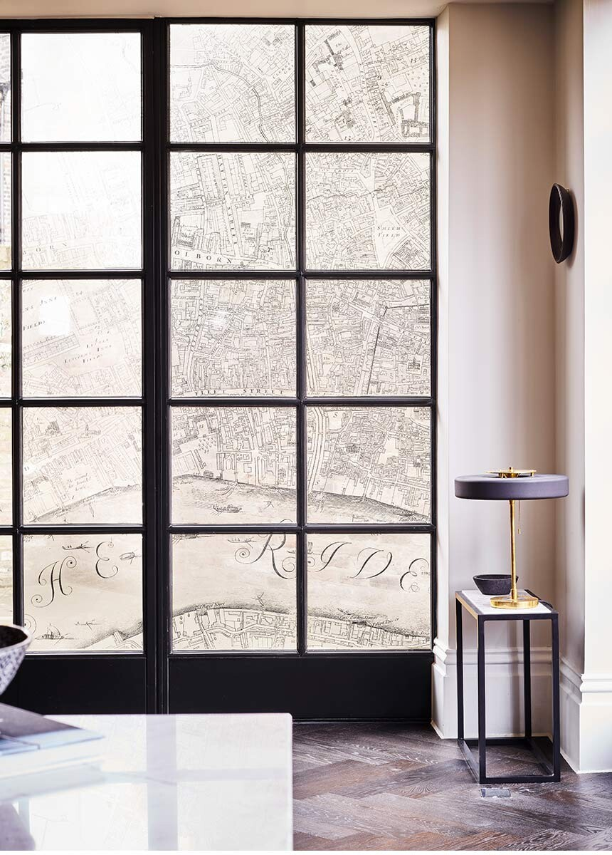 'A Prospect of London and Westminster' Decorative Window Film