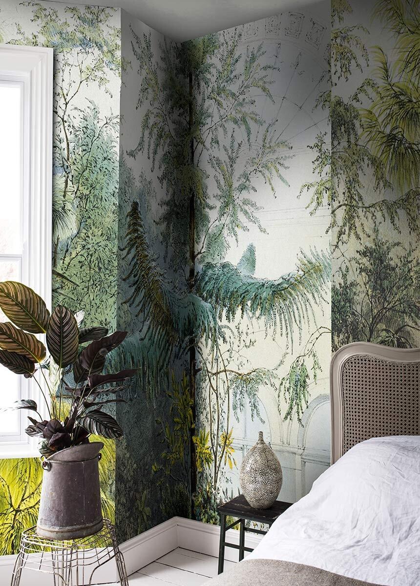 Winter Garden Wallpaper