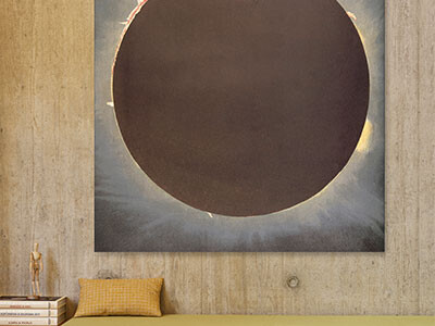 The Moon Canvas Wall Art