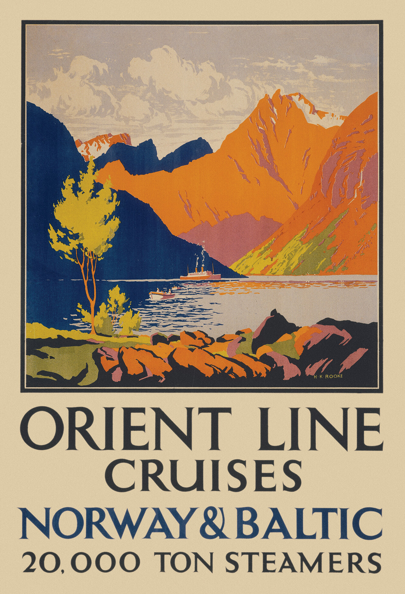 Orient Line to Norway