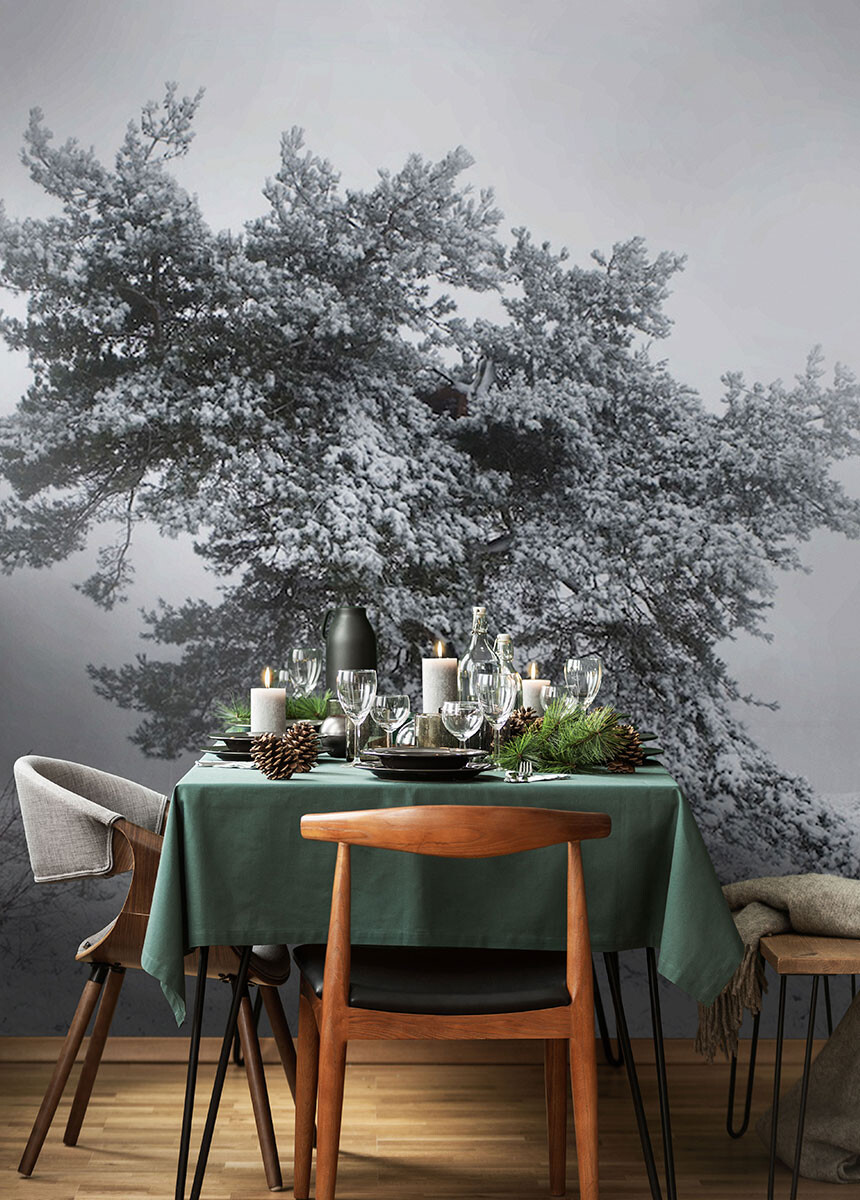 'Winter Trees' Wallpaper Mural