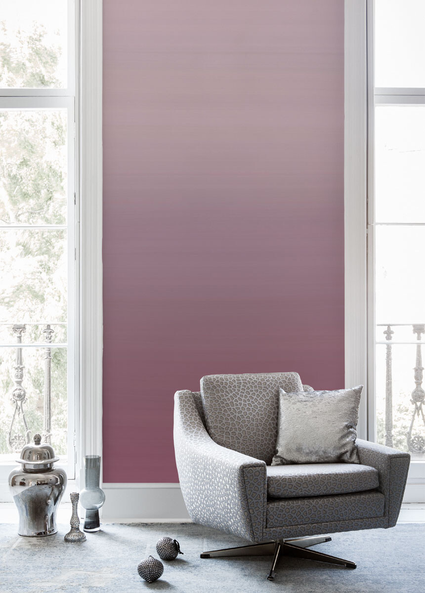 'Coastal Ombre Rose Ash' Wallpaper murals
