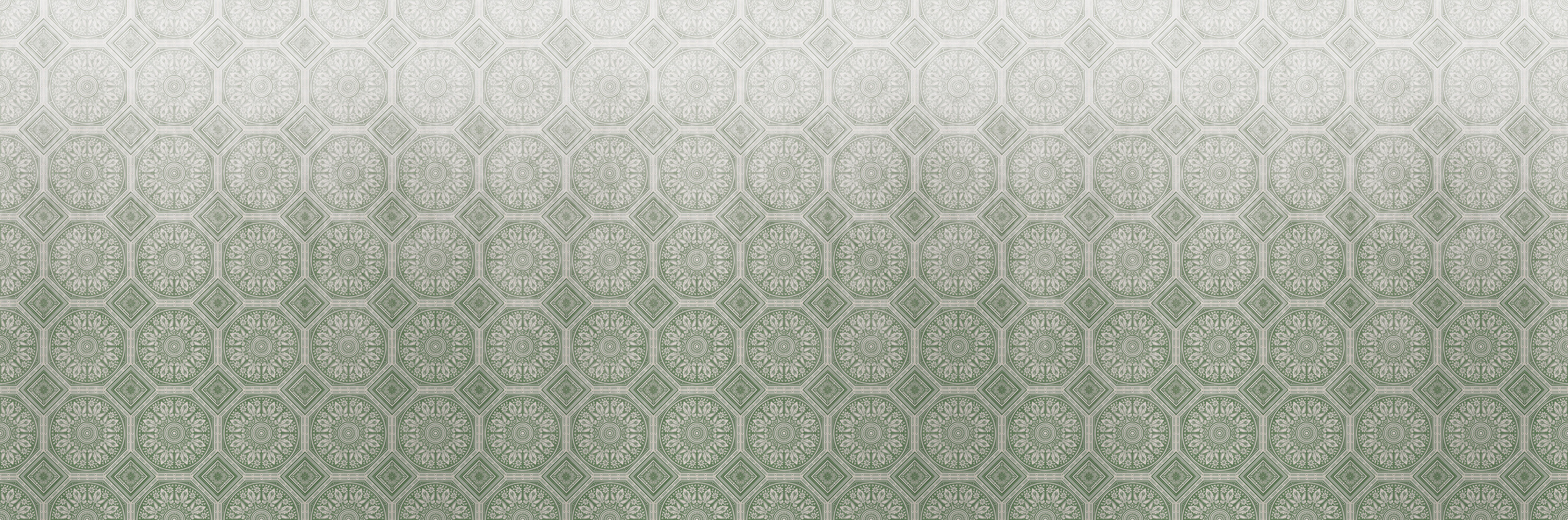 Paris Plasterwork Sage Green