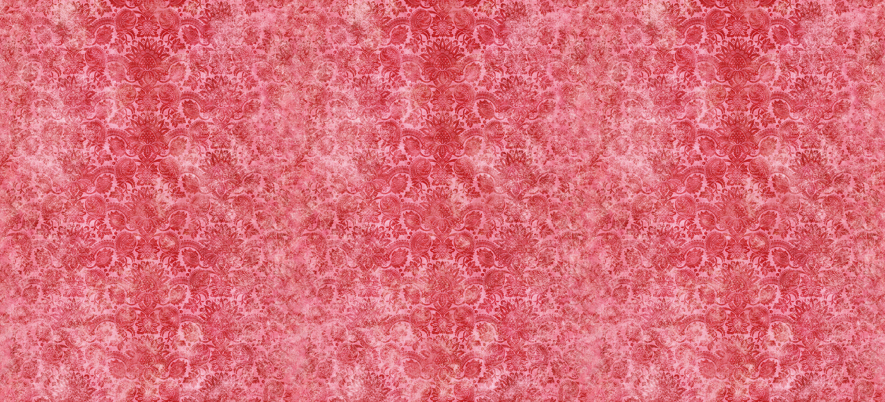 Lydiard Damask Cinnabar Red