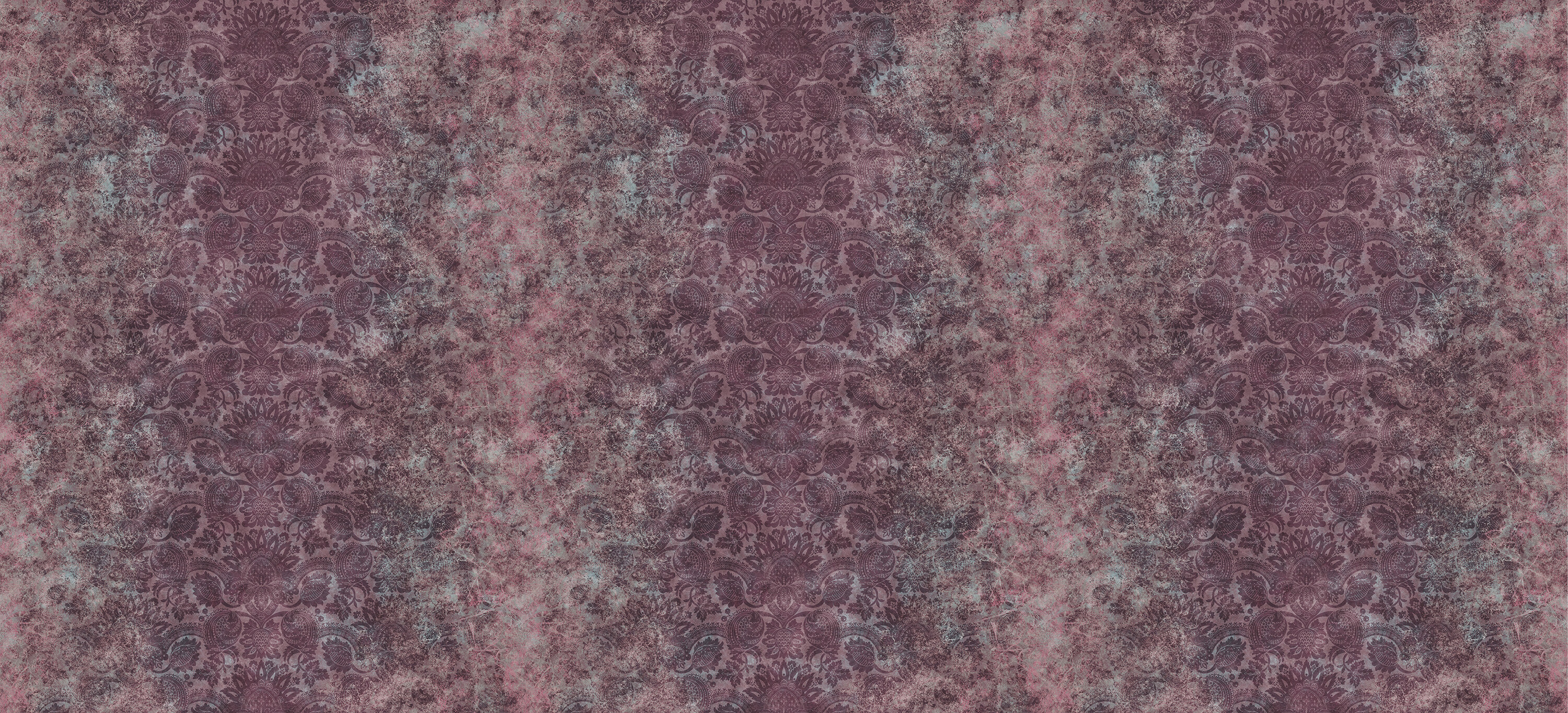 Lydiard Damask Tyrian Purple