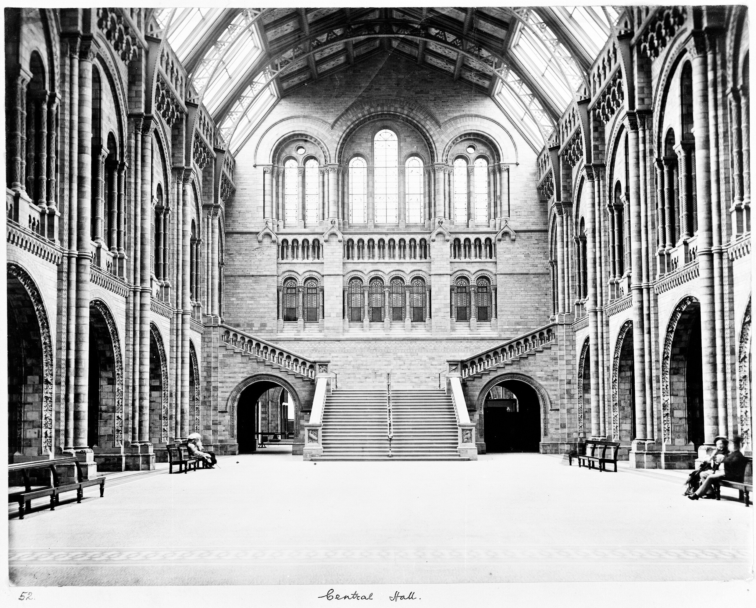 The Central Hall of the Natural History Museum