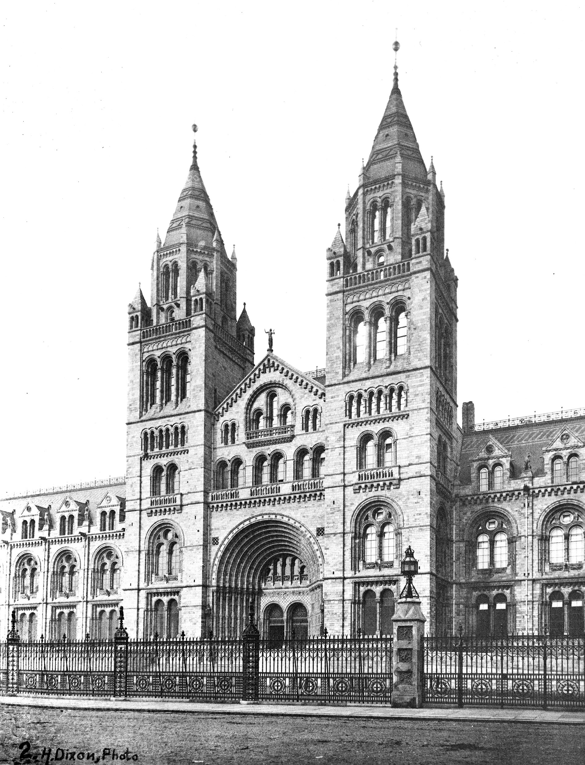 The Natural History Museum, Exterior