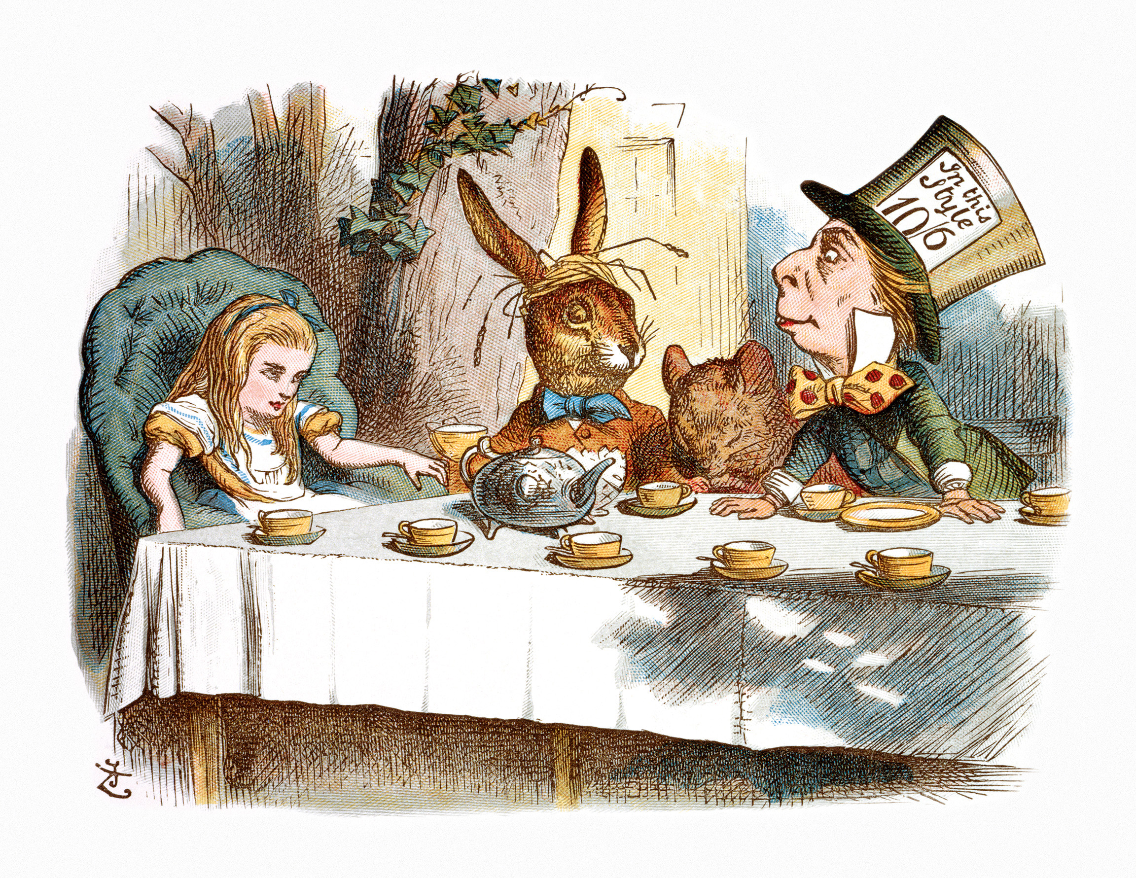 The Mad Hatter's Tea Party II