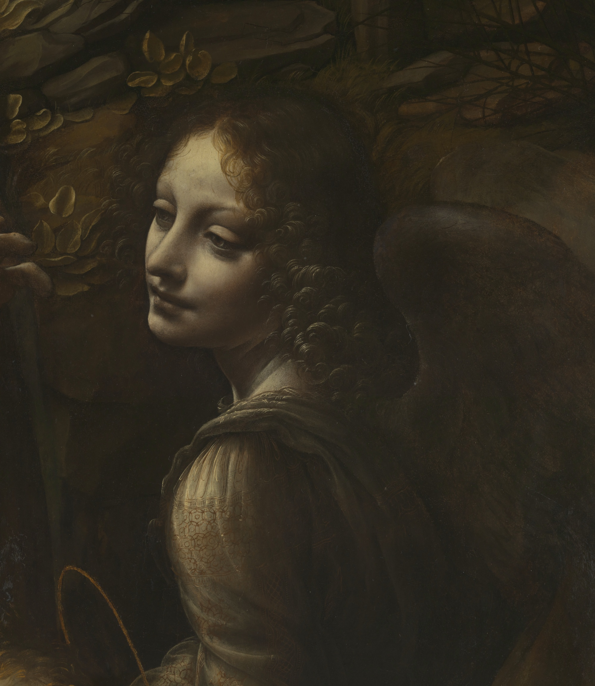 Detail From The Virgin Of The Rocks