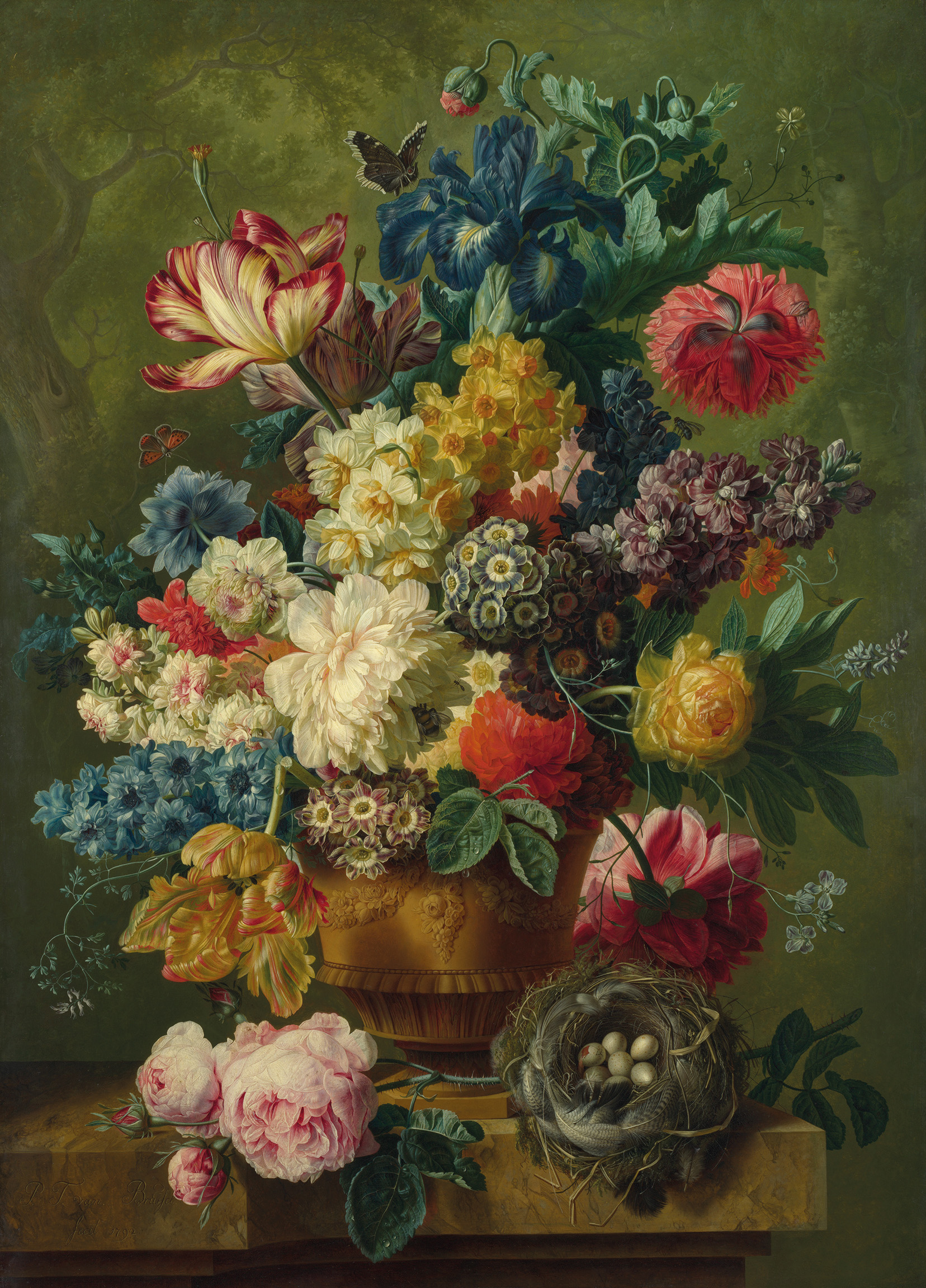 Flowers in a Vase I