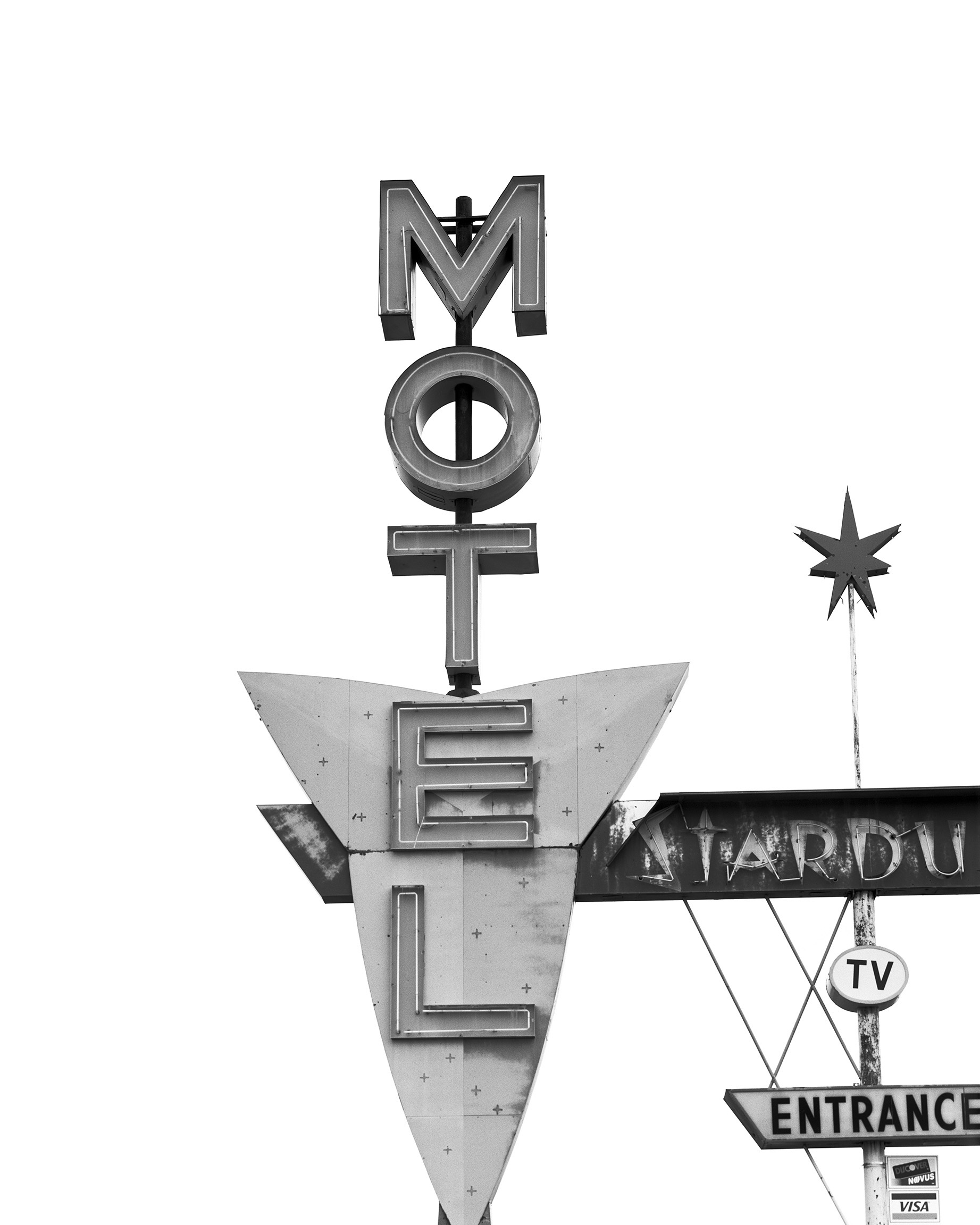 Motel Sign, Wyoming