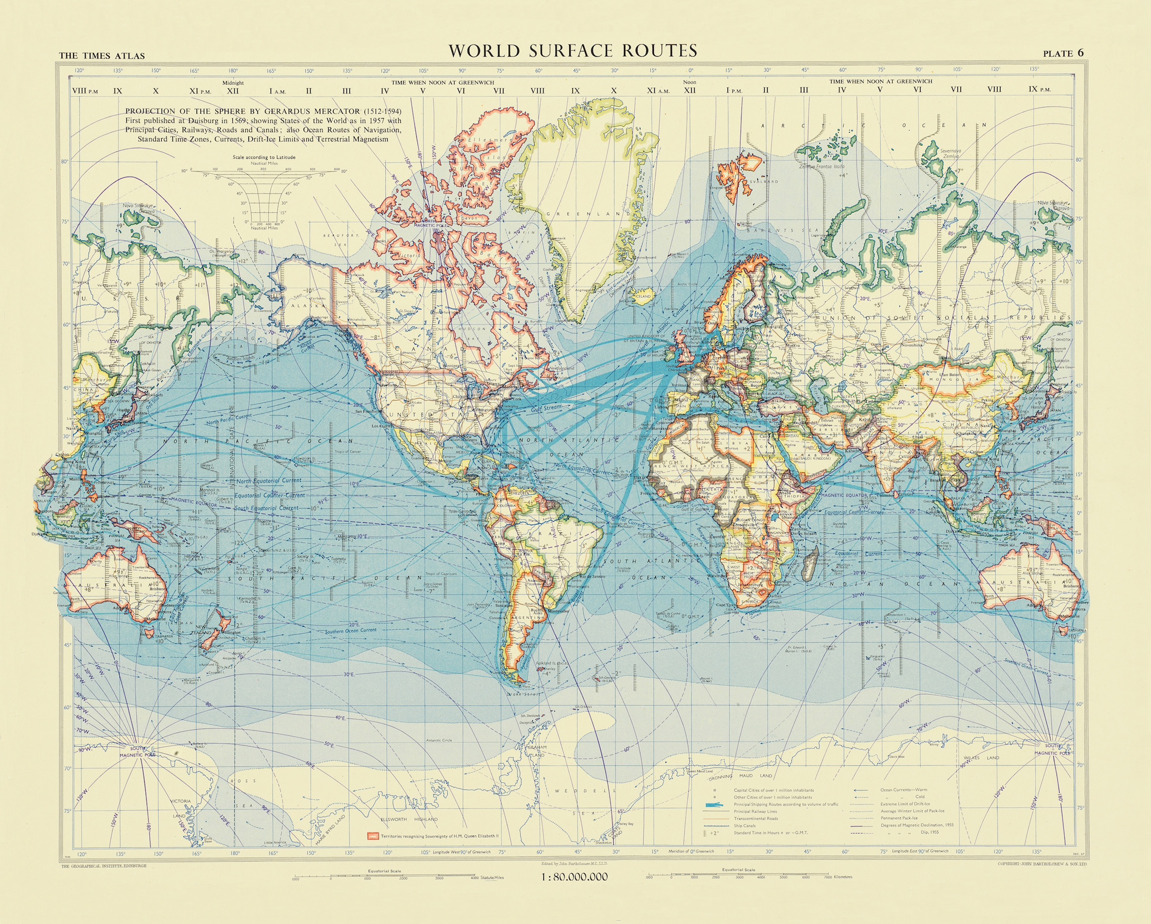 World Surface Routes