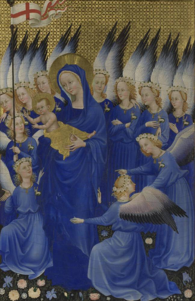 Section from The Wilton Diptych