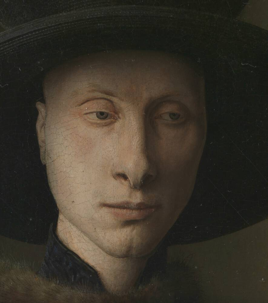 Detail from The Arnolfini Portrait