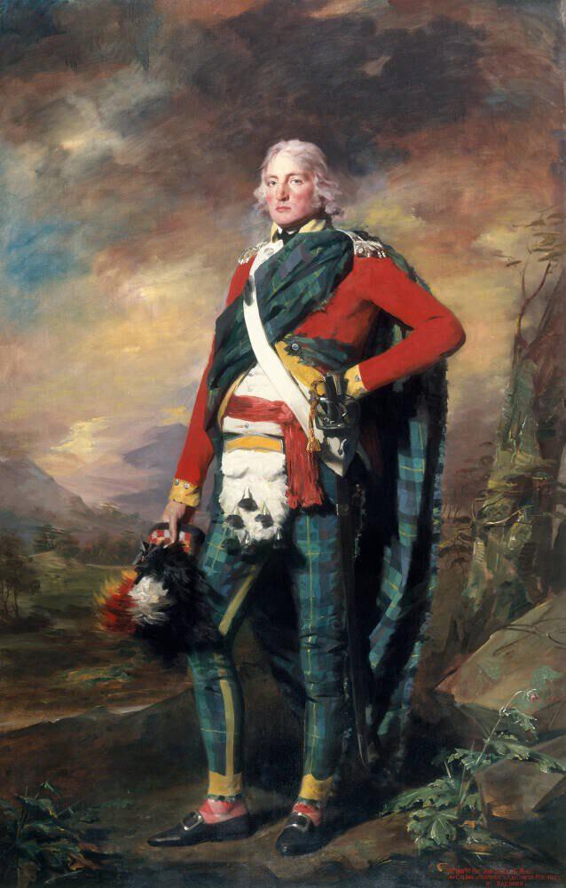 Sir John Sinclair Roller Blind Surfaceview