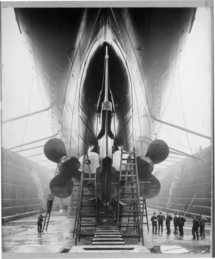 The Stern of the Lusitania
