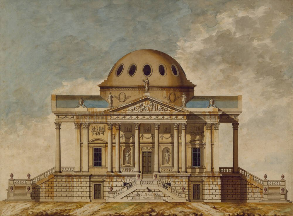 Design for a Nobleman's Villa: Elevation