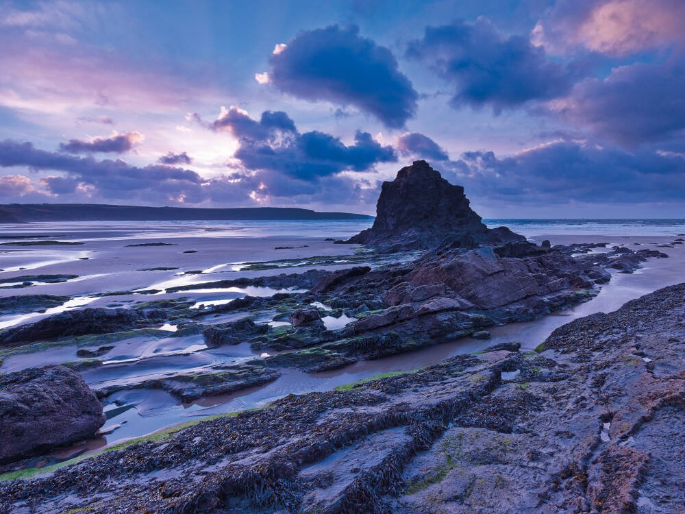 Broad Haven Beach, St Bride's Bay, Pembrokeshire, Wales
