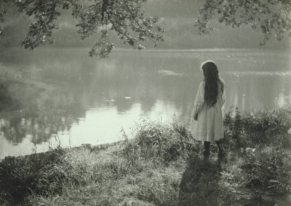 By the Water's Edge, 1900