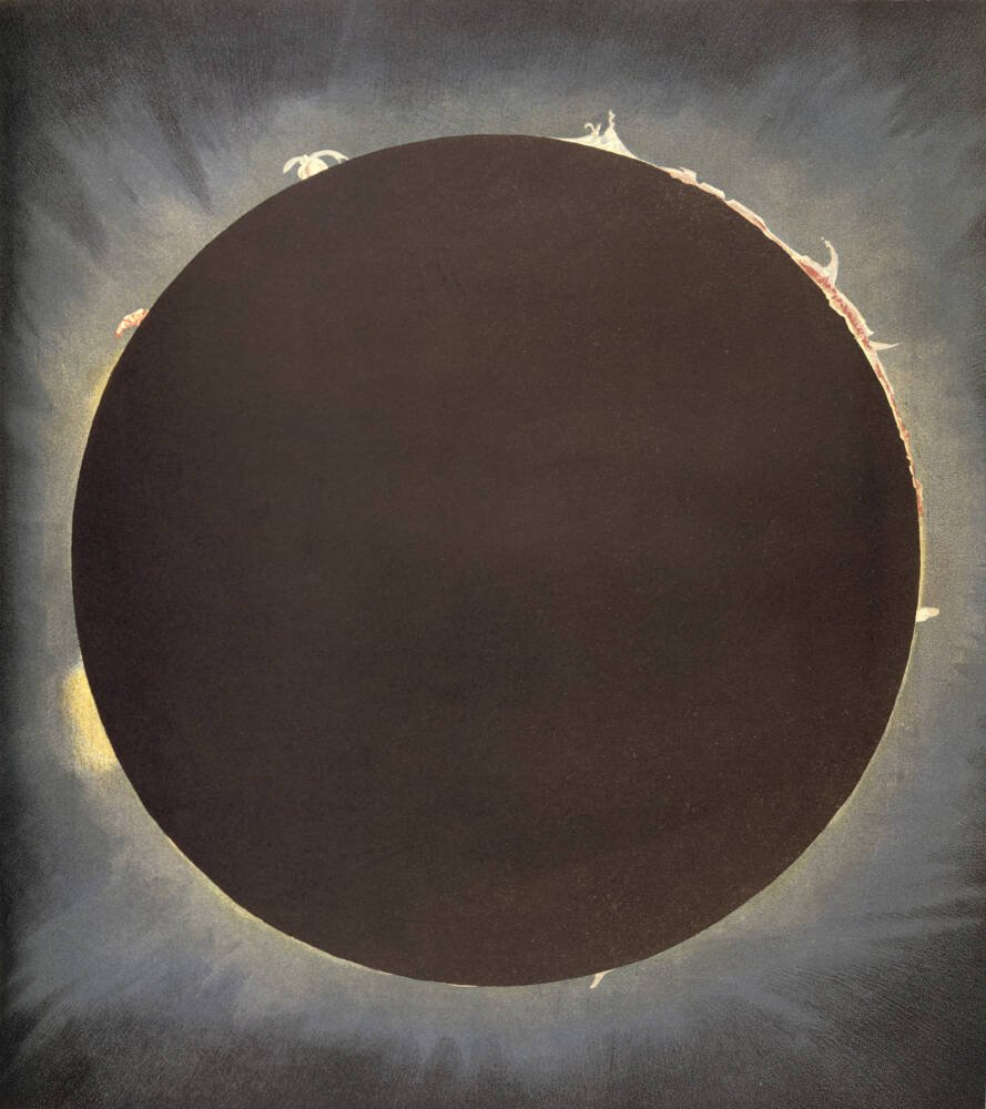 An eclipse, 1862