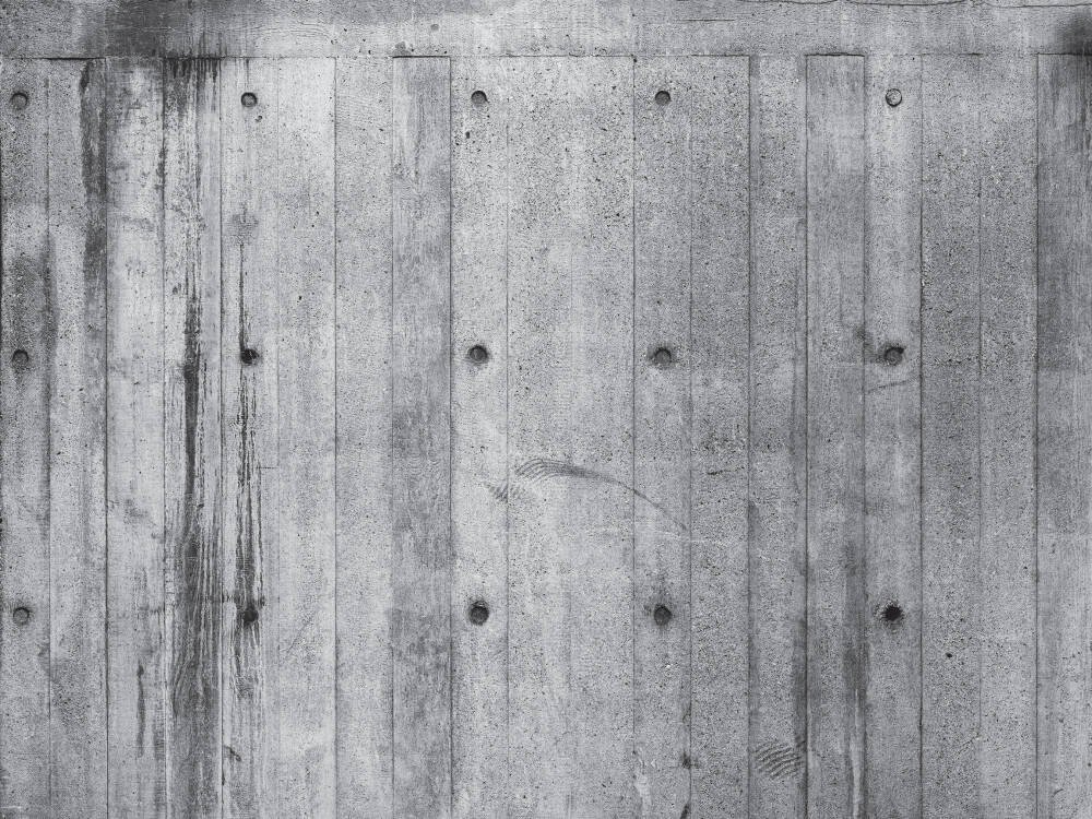 Concrete Wood IV White