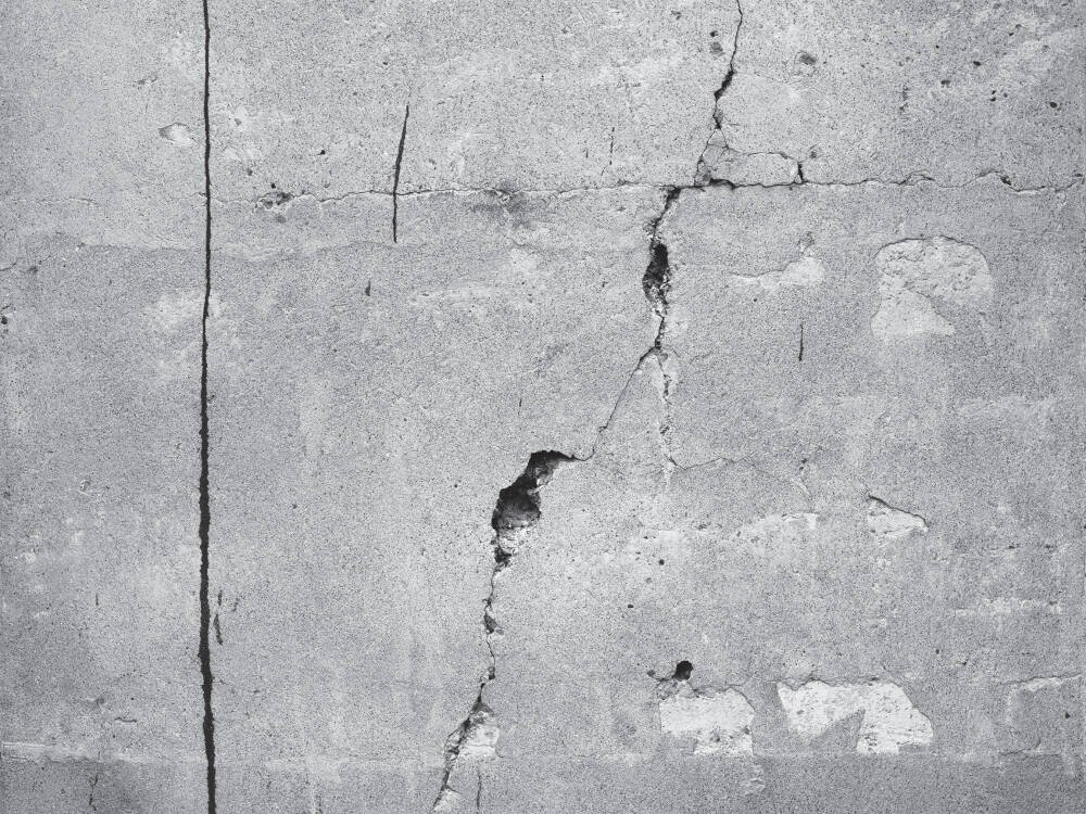Cracked Concrete White