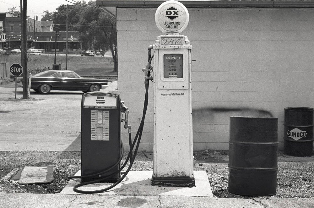 Gas Station, Illinois