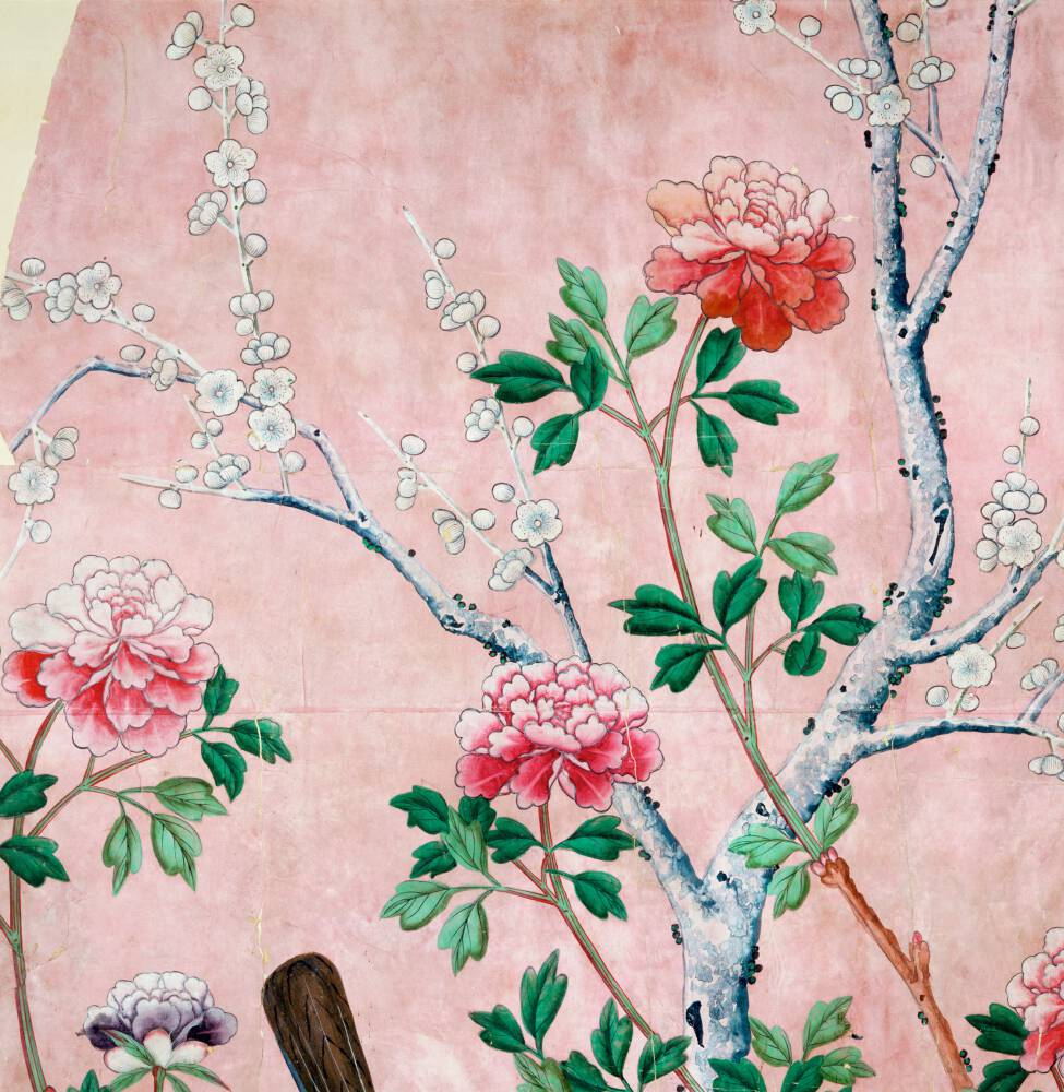 Fragment of wallpaper