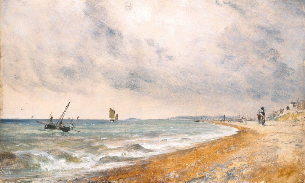 Hove Beach, with Fishing Boats