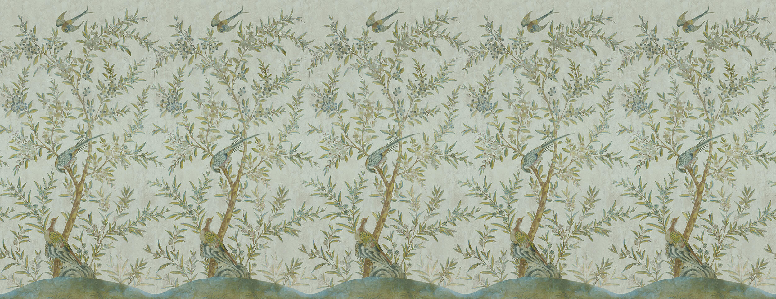 Wotton-Under-Edge Chinoiserie Mist Green
