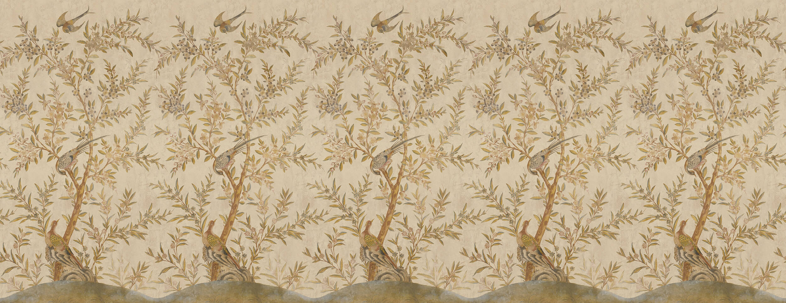 Wotton-Under-Edge Chinoiserie Parchment