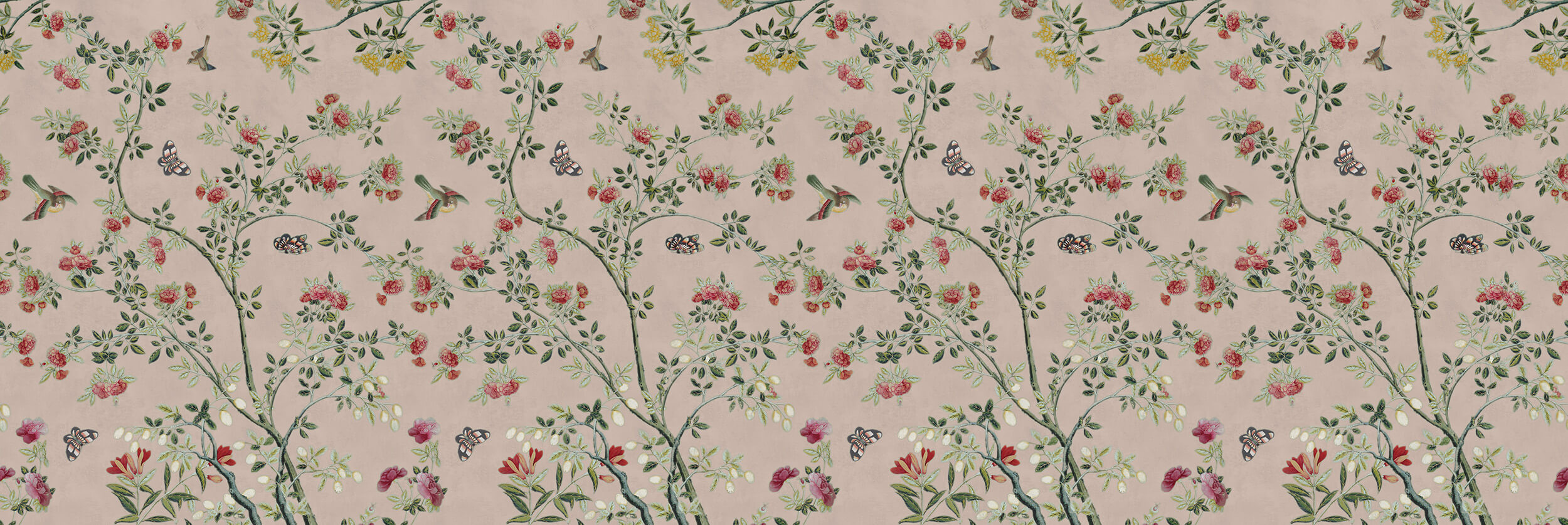 Camellia Chinoiserie Plaster Pink