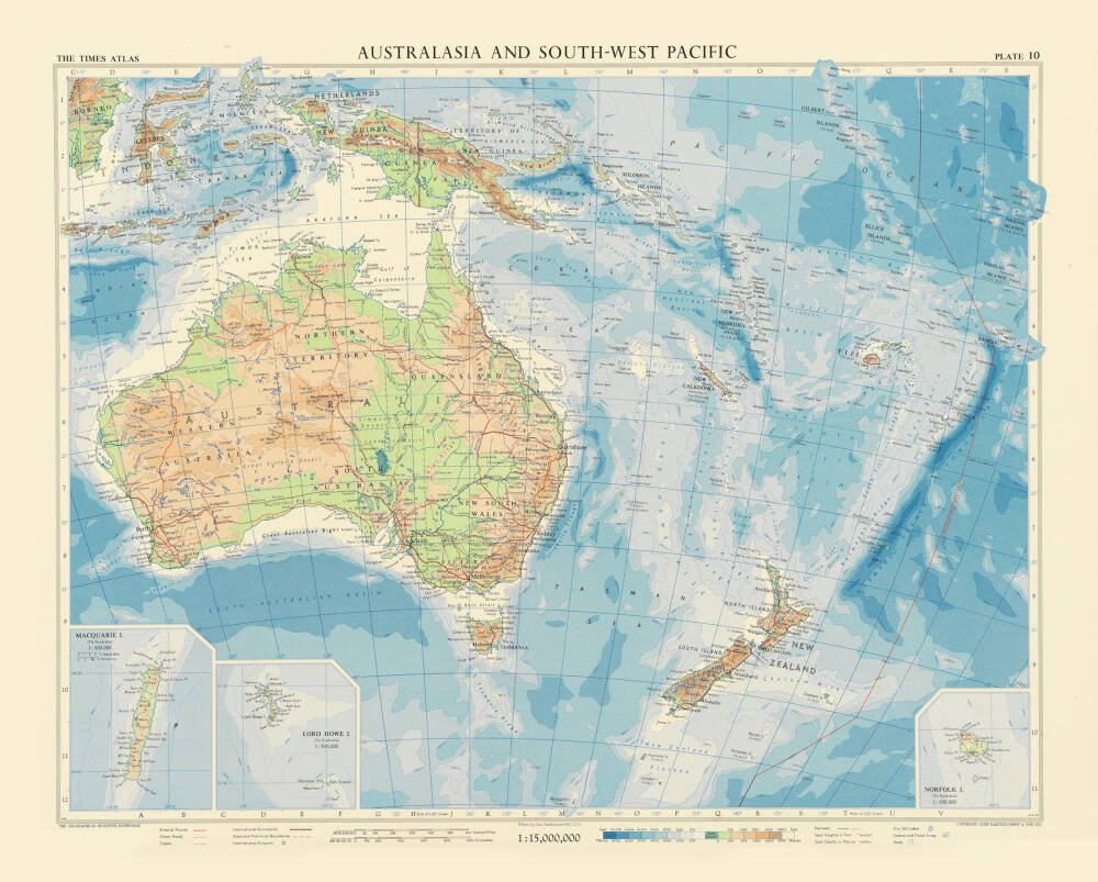 Australasia and South-West Pacific