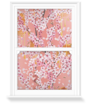 'Honey Blossom' Decorative Window Film