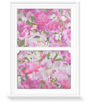 'Peony Crush' Decorative Window Film