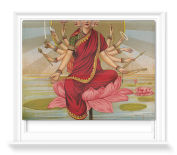 'Gaitri - The Gayatri hymn personified as a Goddess' Roller Blind