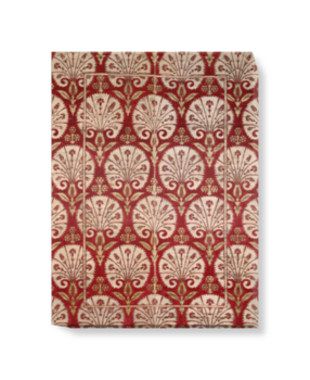 'Ottoman velvet with carnations' Canvas Wall Art
