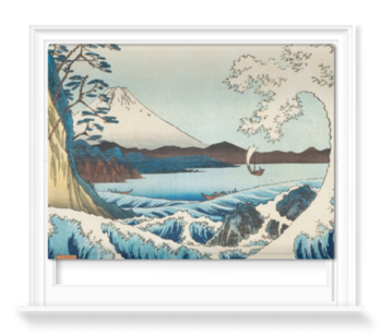 'The Sea at Satta in Suruga' Roller Blind