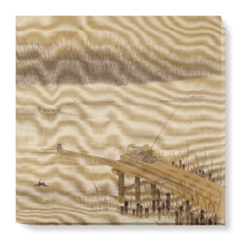 'Fisherman on a Pier' Canvas Wall Art