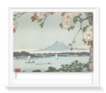 'The Suijin Woods and Massaki' Roller Blind