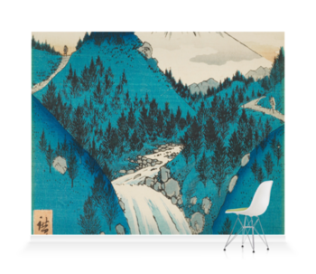 'In the Mountains of Izu Province' Wallpaper Mural