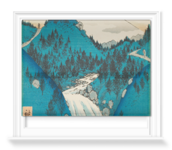 'In the Mountains of Izu Province' Roller Blind