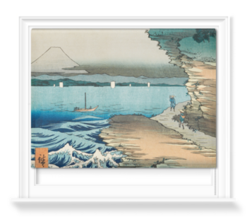 'The Coast at Hota In Awa Province' Roller Blind