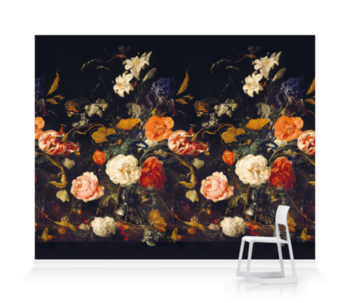 De Heem Floral Bouquet Scenic Midnight