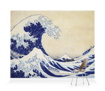 'The Great Wave' Wallpaper murals