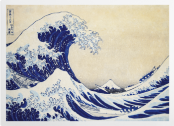 'The Great Wave' Art prints