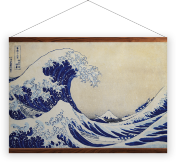 'The Great Wave' Wall hangings