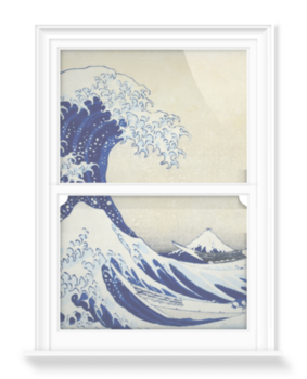 'The Great Wave' Decorative window films